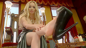 FREE Bonus Update: Aiden Starr Sweaty Foot Worship POV