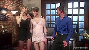 Honeymoon Humiliation: Wife Cuckolds New Hubby Into Better Sex