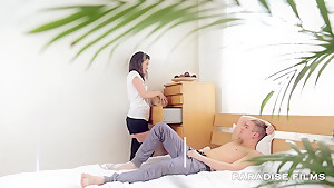 PARADISE FILMS Gorgeous Natural Russian Teen