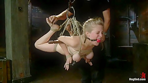 Innocent Penny Pax Faced Fucked by Mark Davis in Extreme Bondage