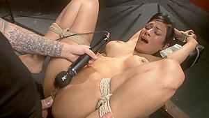 Best fetish xxx movie with crazy pornstars Beretta James and Christian Wilde from Dungeonsex