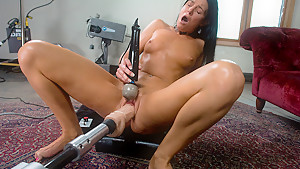 Crazy fetish, milf xxx clip with incredible pornstar India Summer from Fuckingmachines