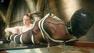 Hottest fetish porn video with best pornstar from Waterbondage