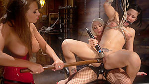 Hottest fetish xxx scene with incredible pornstars Lorelei Lee, Tori Lux and Nika Noire from Whippedass