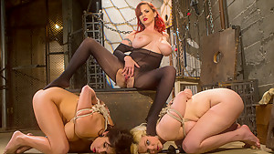 Crazy anal, lesbian adult clip with incredible pornstars Lylith Lavey, Mz Berlin and Alice Frost from Whippedass