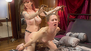 Best fetish xxx movie with amazing pornstars Bonnie Day and Mz Berlin from Whippedass