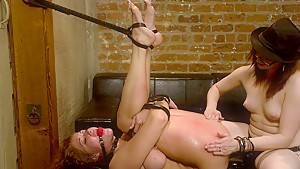 Best fetish porn movie with incredible pornstars Sabrina Fox and Claire Adams from Whippedass