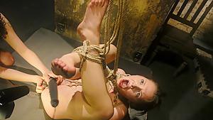 Horny fetish adult movie with best pornstar Sara Scott from Wiredpussy