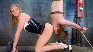 Incredible fetish adult video with hottest pornstar Maitresse Madeline Marlowe from Wiredpussy