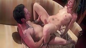 Best pornstar Brooklyn Lee in incredible small tits, redhead xxx video