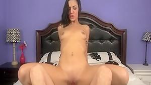 Best pornstar Aimee Black in incredible facial, small tits xxx scene
