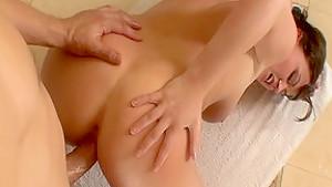 Hottest pornstar Sara Stone in amazing big ass, cunnilingus xxx clip