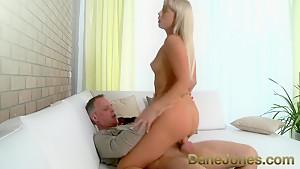 Fabulous pornstar in Amazing Romantic, Blonde porn movie