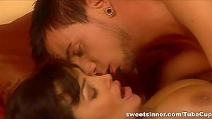 Crazy pornstar in Incredible Blowjob, Hardcore sex movie