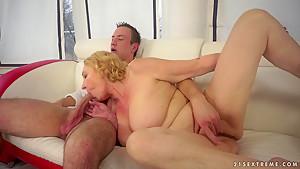 Hottest pornstar in Fabulous BBW, Grannies adult video