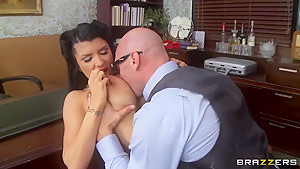 Johnny Sins and Romi Rain have a great fuck