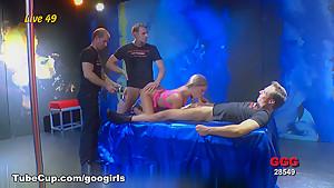 Exotic pornstar in Crazy German, Bukkake xxx movie