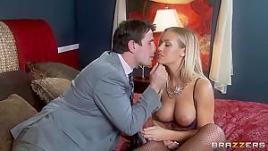 Hot blonde pornstar Manuel Ferrara is fucking with a cute boy