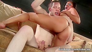 Best pornstars Wolf Hudson, Aiden Starr, Yasmine De Leon in Fabulous Facial, Latina xxx video