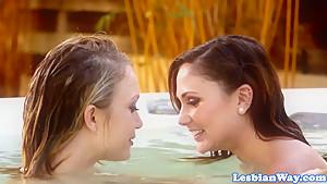 Fabulous pornstar in Crazy College, Lesbian xxx scene