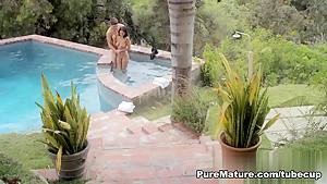 Best pornstar Ava Addams in Incredible Latina, MILF porn clip