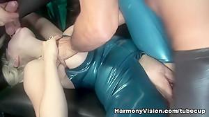 Hottest pornstar Syren Sexton in Crazy Latex, Pornstars porn clip