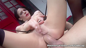 Amazing pornstars in Incredible Threesomes, Cumshots porn movie