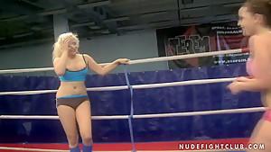 Jenna Lovely and Liza del Sierra in catfight