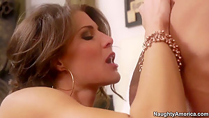 Marvelous Jenni Lee is sucking a hard dick