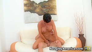 Shay Fox is horny brunette that will be fucked in her wild pussy