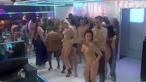 Crazy pornstars Leony Dark, Paris Diamond and Valentine Rush in exotic lingerie, facial xxx movie