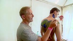 Bodypaint Fashionshow Nude Art Show