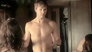 CC Sheffield & Thea Brooks sex scenes in ' True Blood s03'