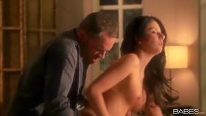 Nikki Daniels and Alec Knight spend evening fucking