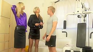 Exotic pornstars Sindy Vega and Klarisa Leone in horny fetish, facial adult video