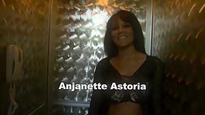 Incredible pornstar Anjanette Astoria in hottest lingerie, brazilian porn clip