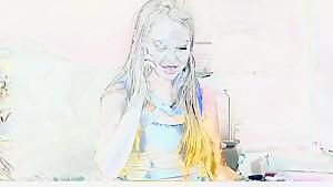 Amazing pornstar Liv Aguilera in best cumshots, blonde xxx scene