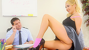 Aaliyah Love & Preston Parker in Naughty Book Worms