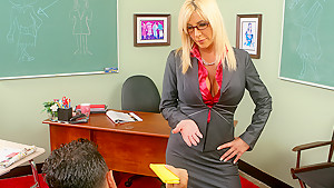 Misty Vonage & Mikey Butders in My First Sex Teacher