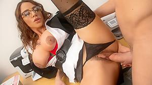 Ariella Ferrera & Johnny Castle in My First Sex Teacher