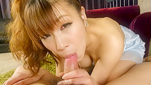 Hottest Japanese chick Natsuki Shino in Fabulous JAV uncensored Cumshots scene