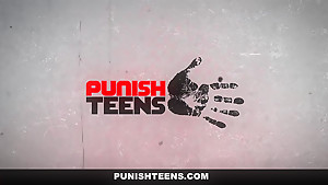 PunishTeens - Young Latina Destroyed By Sisters Boyfriend