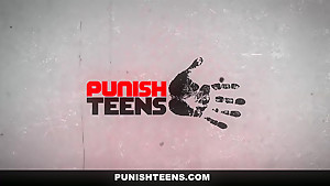 PunishTeens - Little Sister Brutally Fucked And Dominated