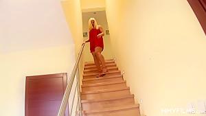 MMV FILMS German Blonde sexy teen