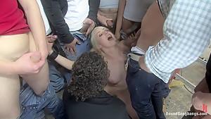 Public Gangbang 1