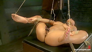 Training Adrianna Luna-Day 4 Extreme Torment