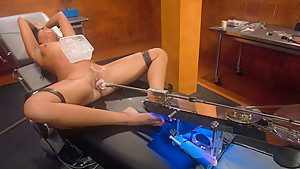 Exotic fetish sex scene with best pornstar Alexa Jaymes from Fuckingmachines