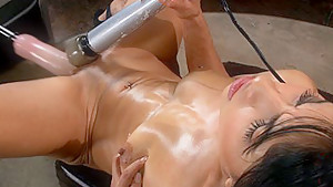 Hottest fetish porn scene with incredible pornstar Candy Martinez from Fuckingmachines