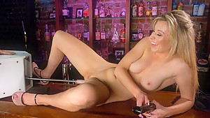 Horny fetish, blonde adult video with fabulous pornstar Jessica Heart from Fuckingmachines