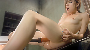 Exotic fetish porn scene with crazy pornstar Sasha Grey from Fuckingmachines